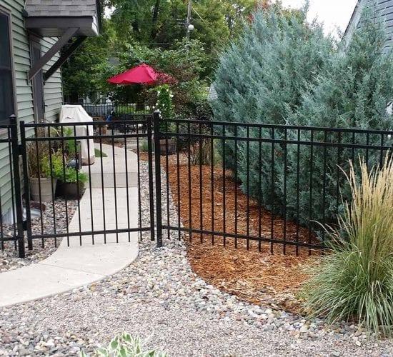 4 Ornamental Steel Fence Mn
