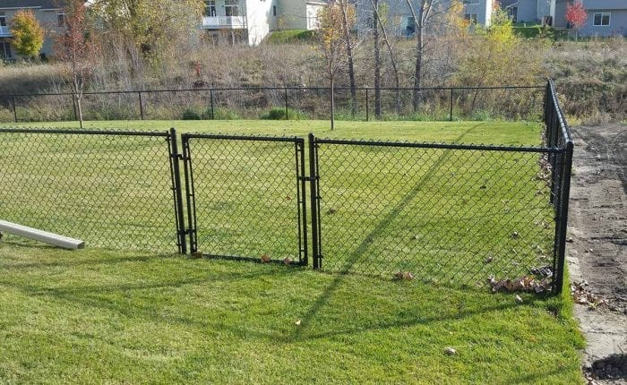 Chain link fences northland fence for Chain link fence planner