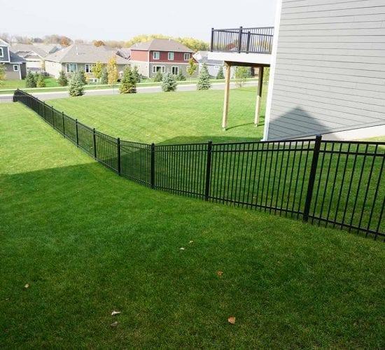 48 Slopped Grade Ornamental Fence