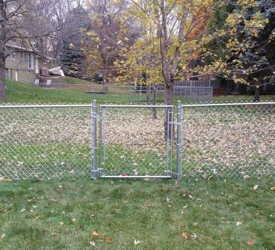 48 Galvanized Walk Gate Mn