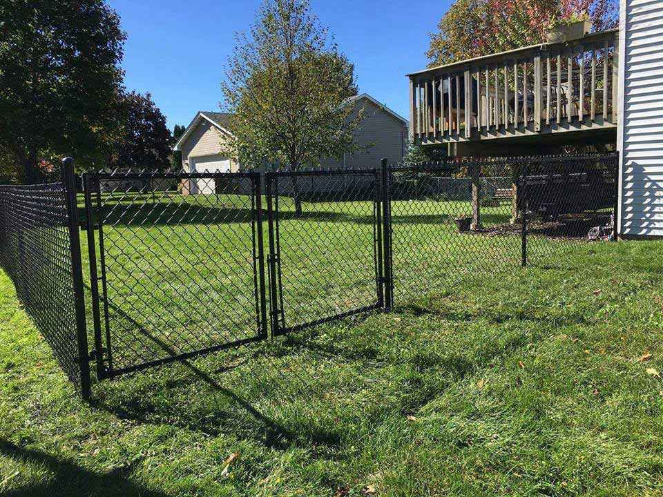 Black Chain Link Fences | Northland Fence
