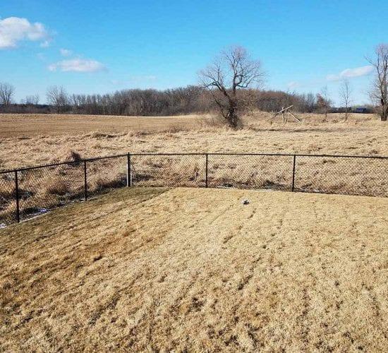 4 Black Chain Link Fencing Minnesota