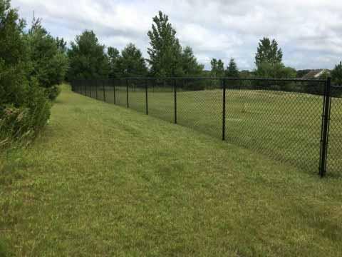 4 Black Fence