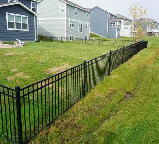 4 Powder Coated Ornamental Fence