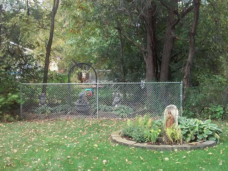 Galvanized Chain Link Gallery Northland Fence
