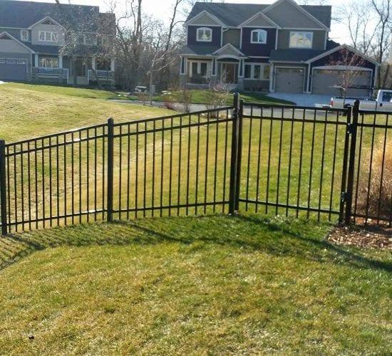 4 Ornamental Fence Walk Gate Mn
