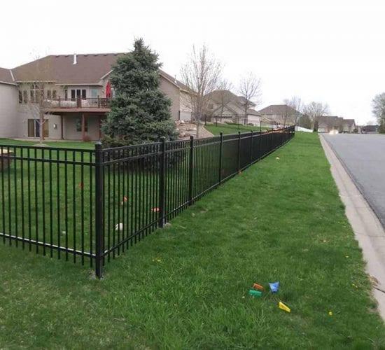 4 Ornamental Steel Wrought Iron Fence