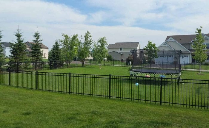 4 Ornamental Wrought Iron Fence Mn