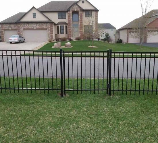 4 Ornamental Wrought Iron Fence Standard Walk Gate