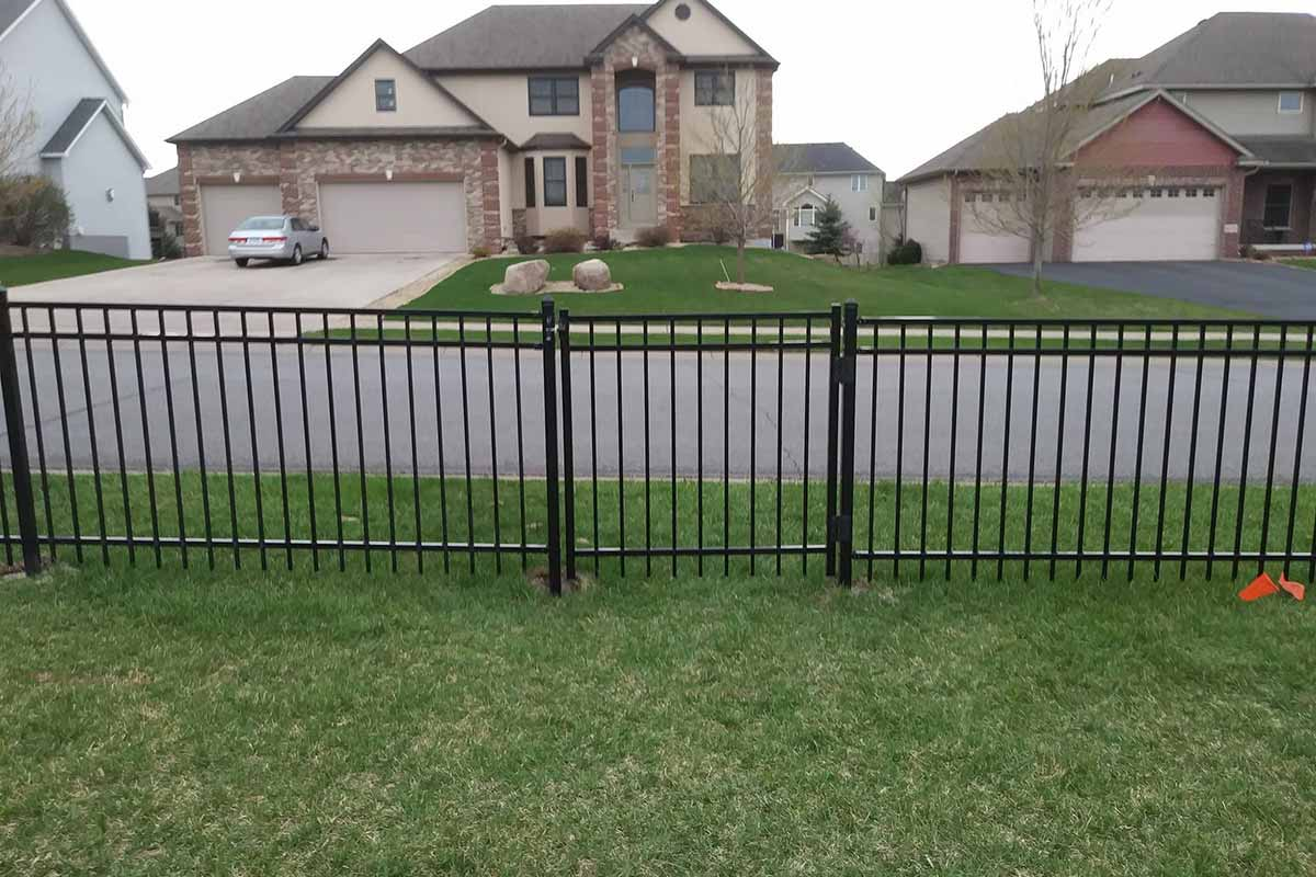 Ornamental Flat Top Northland Fence
