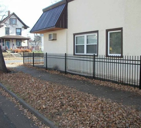 4 Spear Top Ornamental Fences