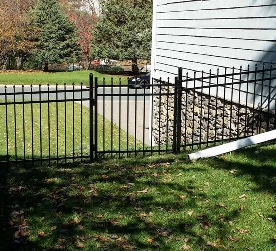 4 Spear Top Ornamental Fencing