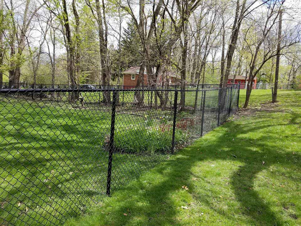 Black Chain Link Fences Northland Fence