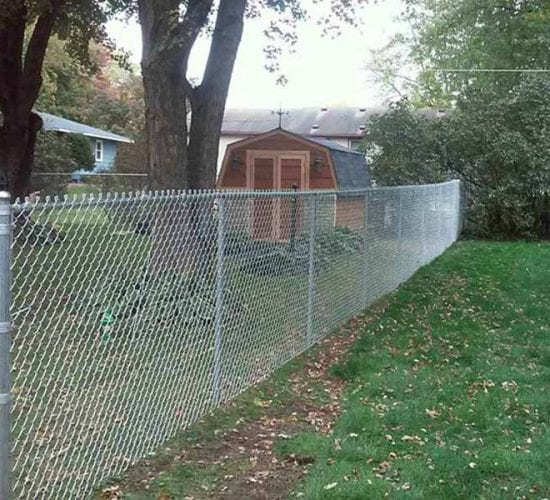 5 Galvanized Chain Link Fence