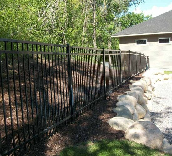 5 Ornamental Wrought Iron Fence