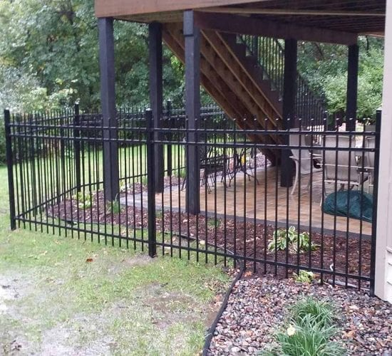 5 Spear Top Ornamental Fence Mn