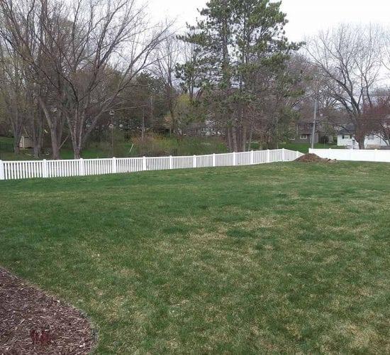 White Vinyl Picket Fence Company