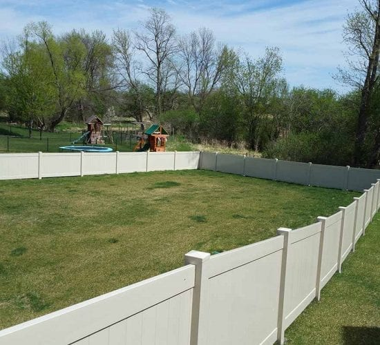 4 Tan Vinyl Privacy Fencing Mn
