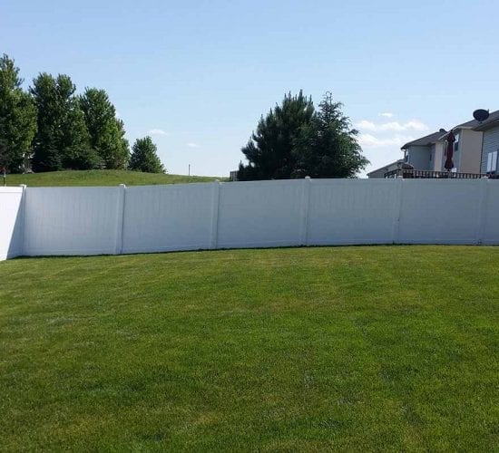6 White Vinyl Fencing Mn Installation