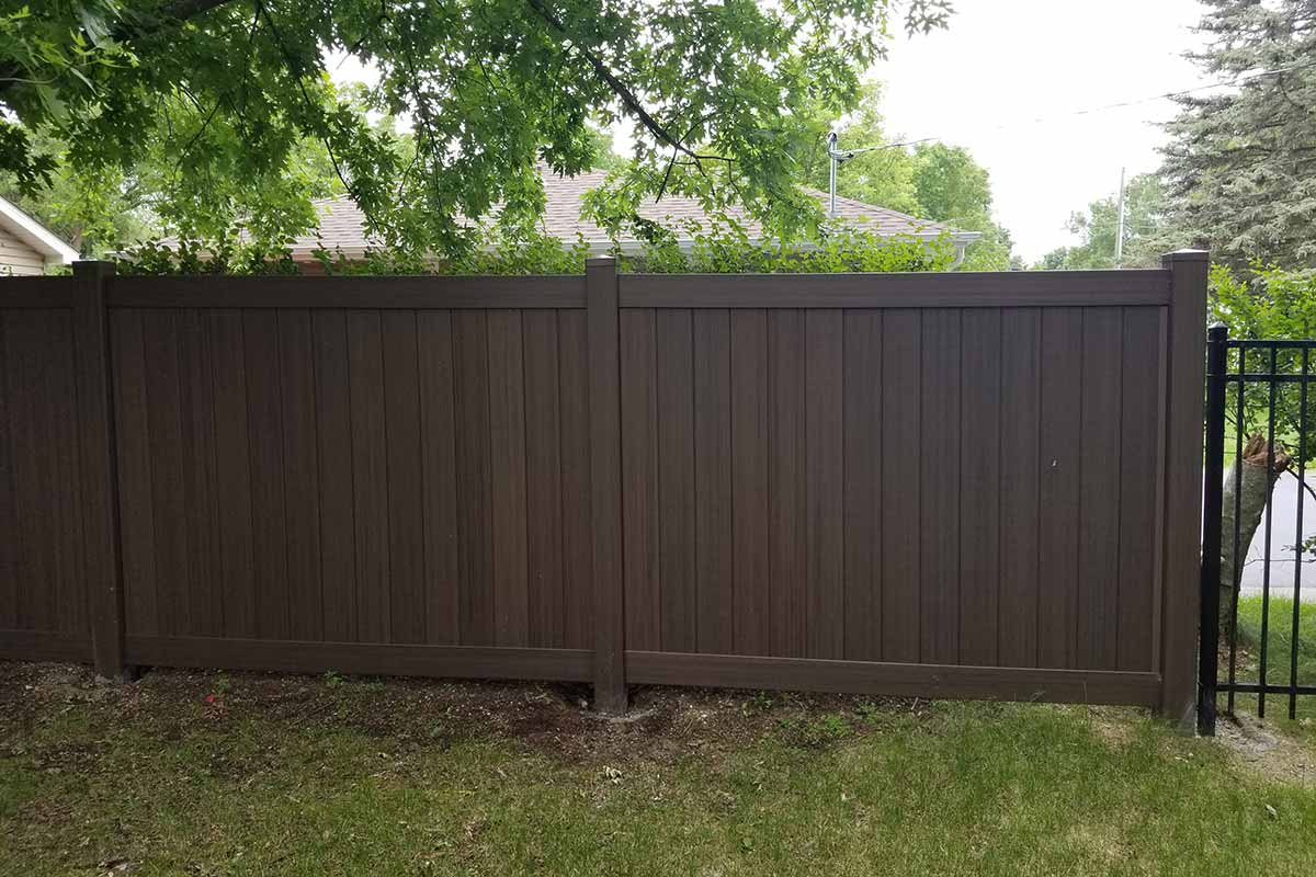 Vinyl Privacy Fences Northland Fence Highest Amp Most
