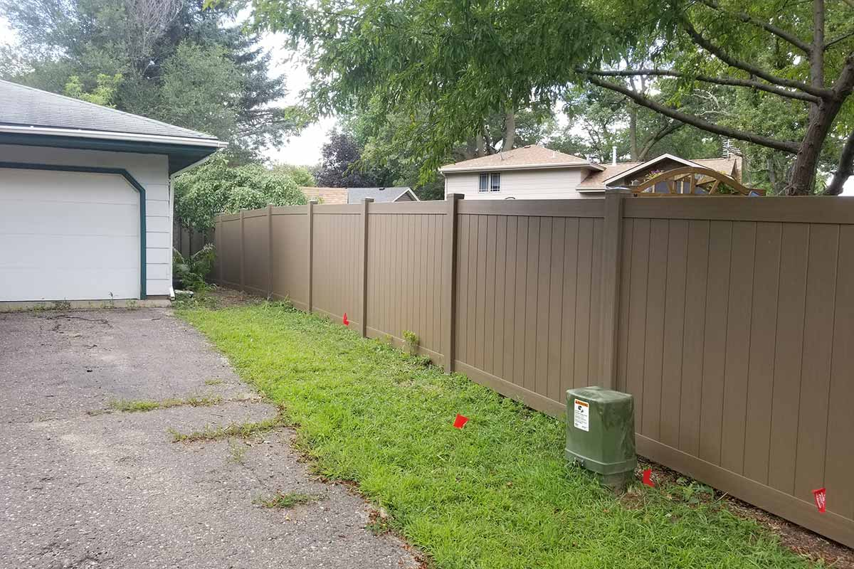 Vinyl Privacy Fences Northland Fence Highest Amp Most