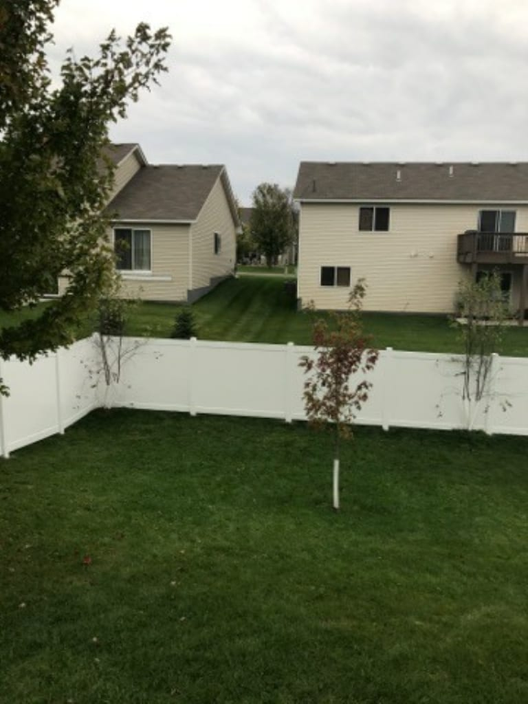 Vinyl Privacy Fence Fridley