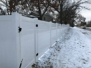 Vinyl Fence Maintenance