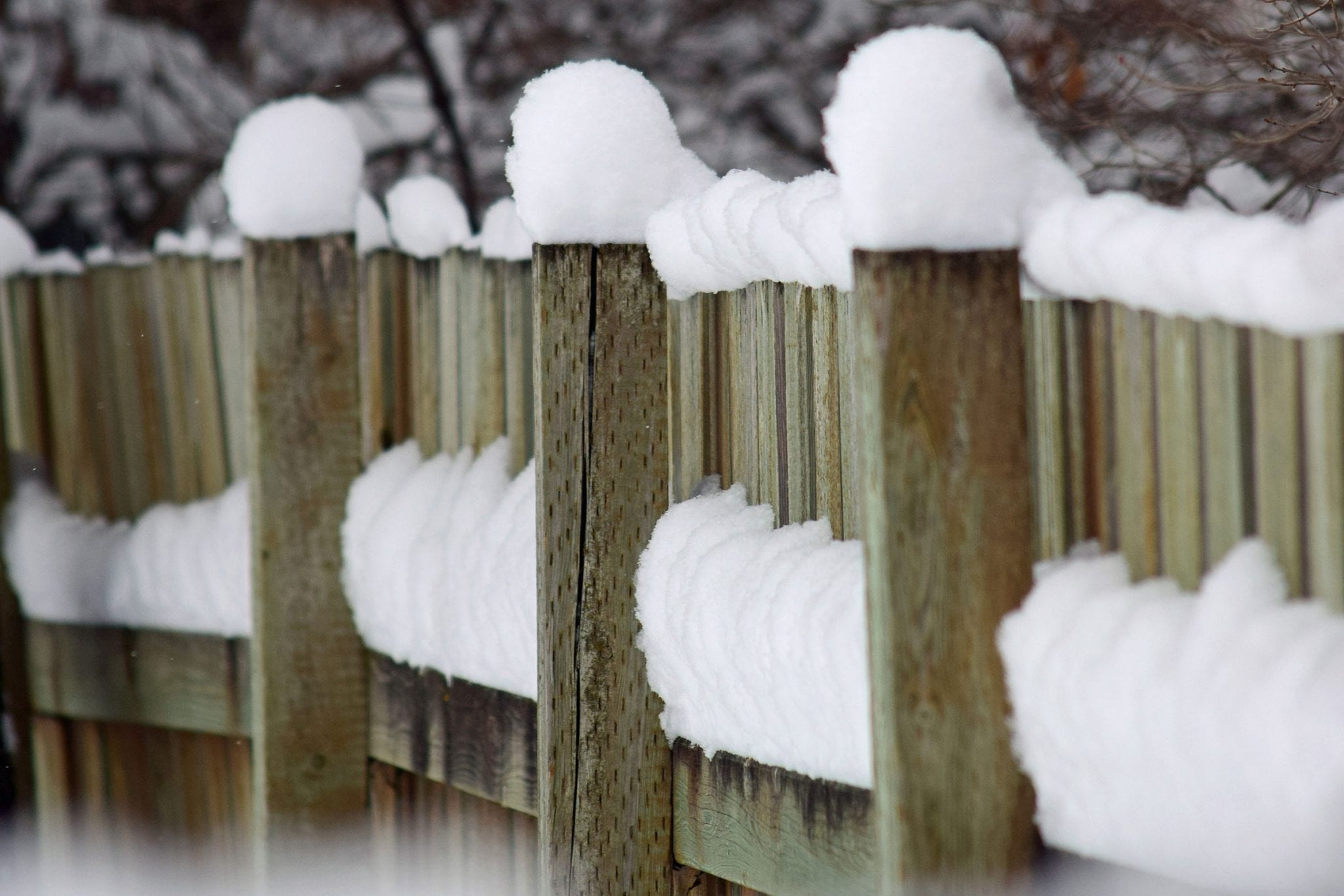 Minnesota Winters Best Fence