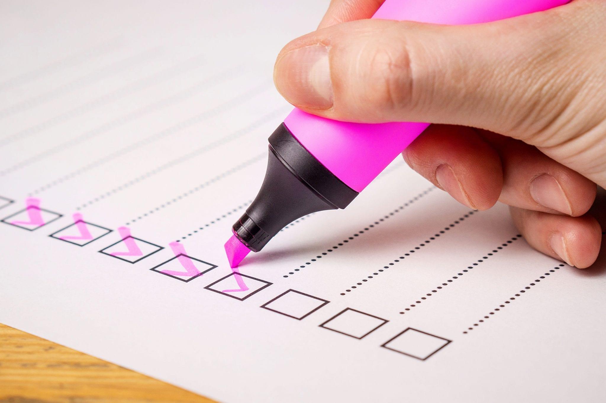 Planning Fence Installation Checklist