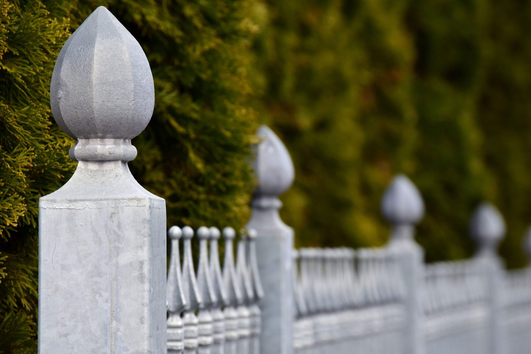 Best Metal Fence Materials
