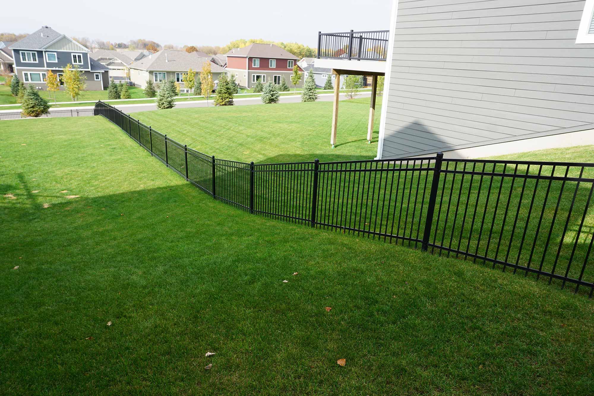 Graded Fence Maintenance