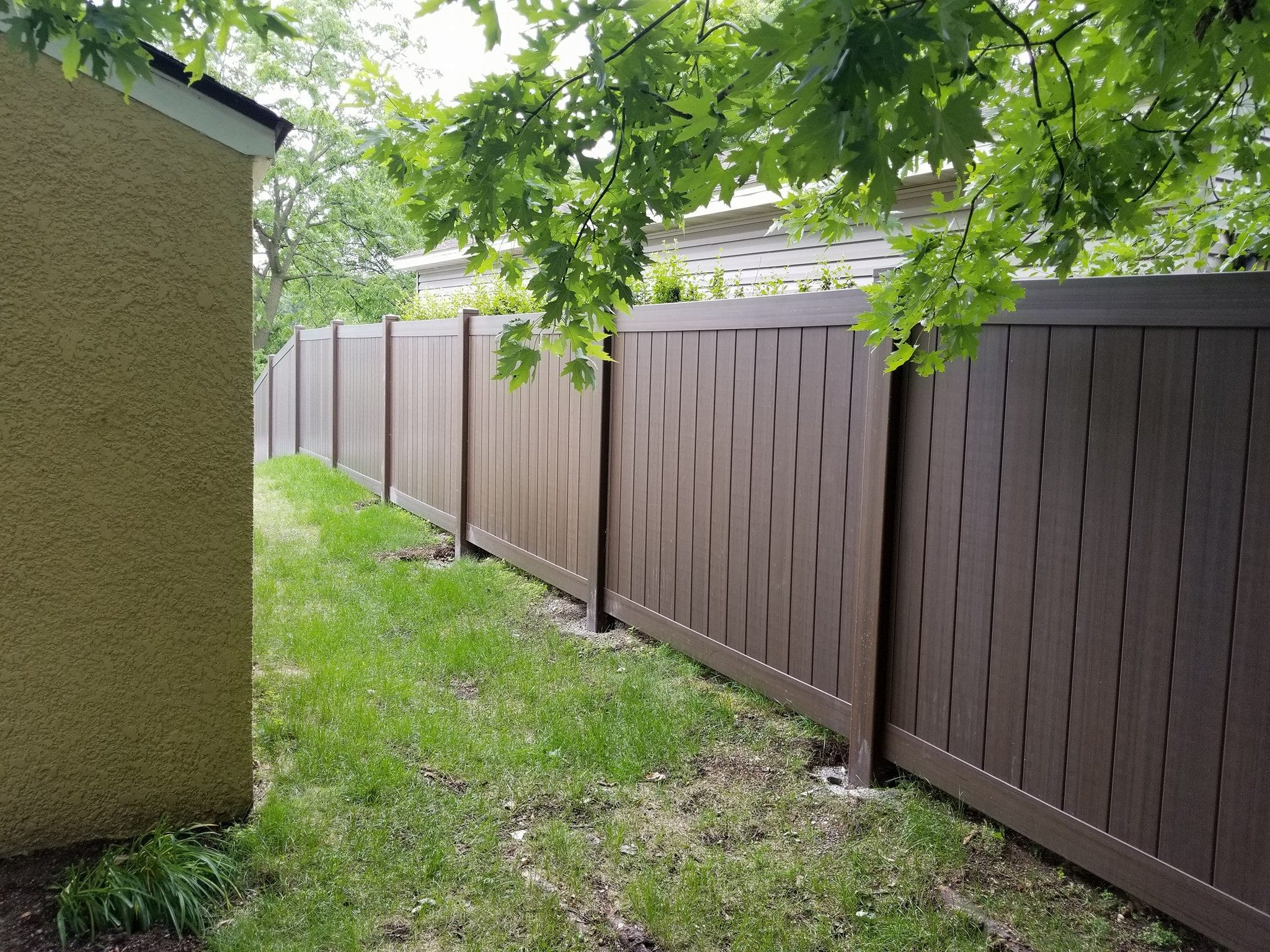 Installing Fence On A Grade